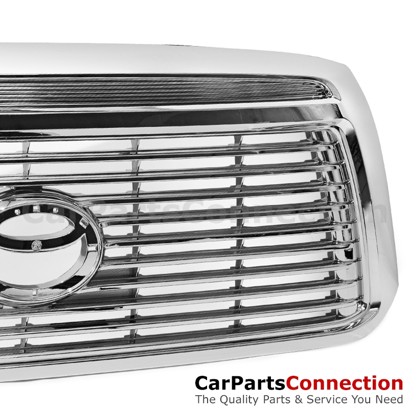 Grille Platinum: Toyota Tundra 07-13 Limited Platinum Style Front Bumper