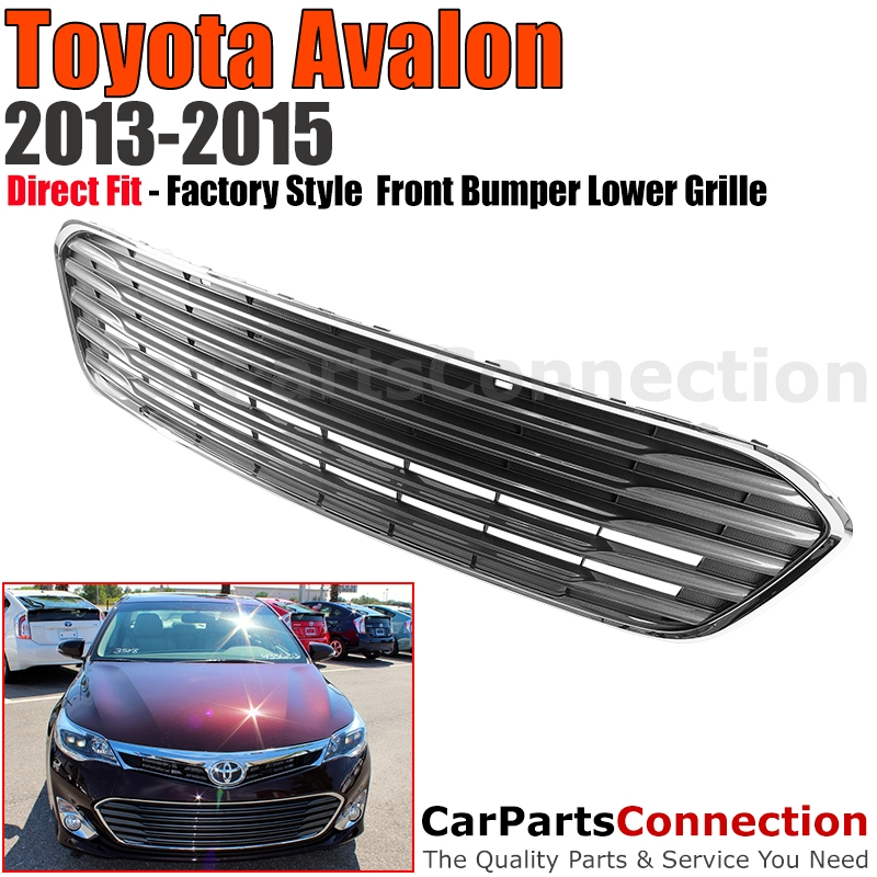 2013 2016 Toyota Avalon Lower Front Bumper Radiator Grille