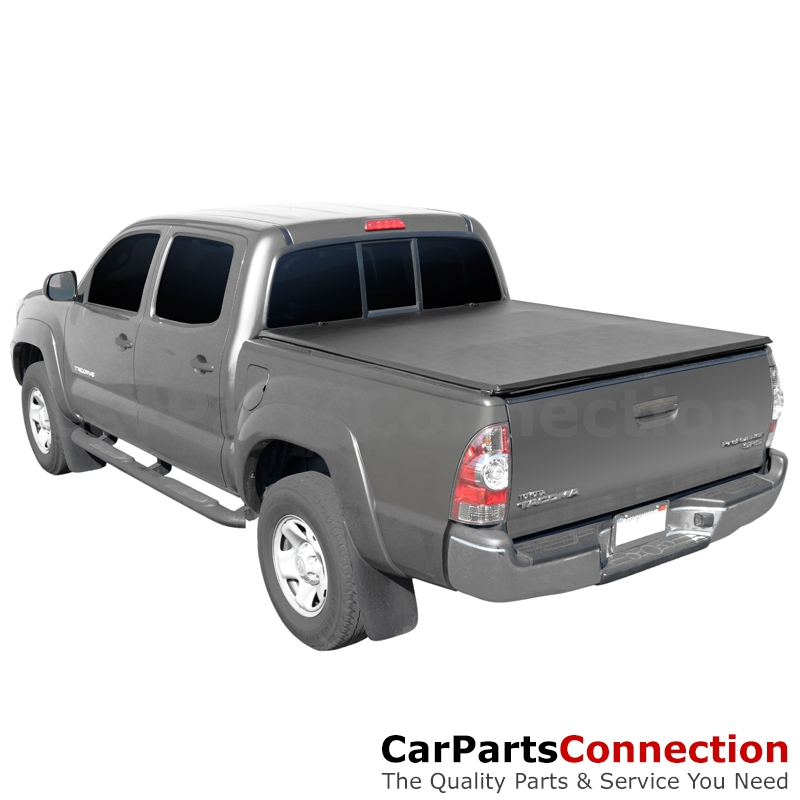 Roll-Up Soft Tonneau Cover 6.5 Ft Bed For 2014 Silverado