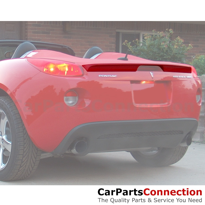 PRE-PAINTED for 2006-2010 PONTIAC SOLSTICE Lip Style Trunk Rear Spoiler New
