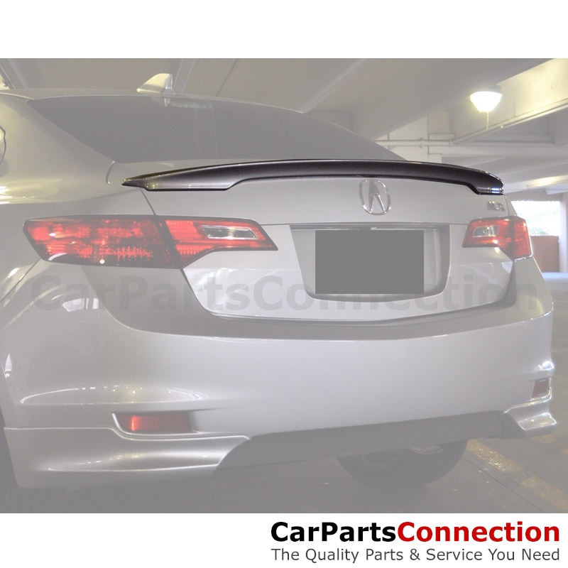 Primer ABS Rear Trunk Spoiler Wing For 2013-2018 Acura ILX